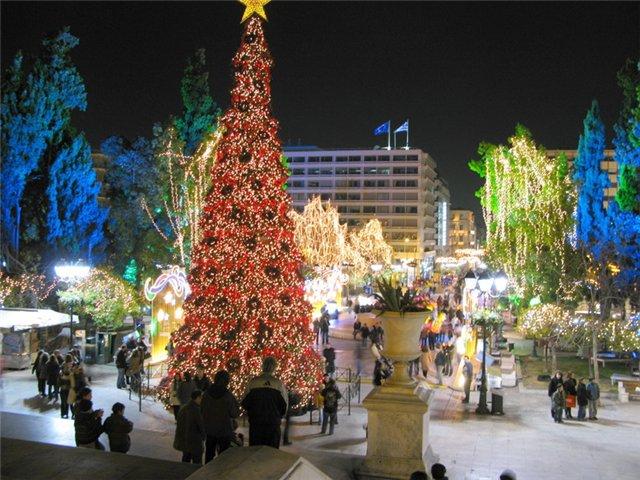 Картинки новый год в греции