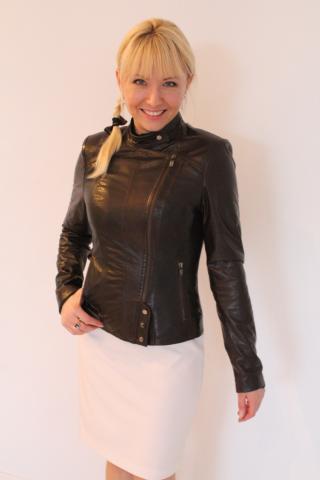 Купить Женскую Кожаную Куртку В Москве Из Турции